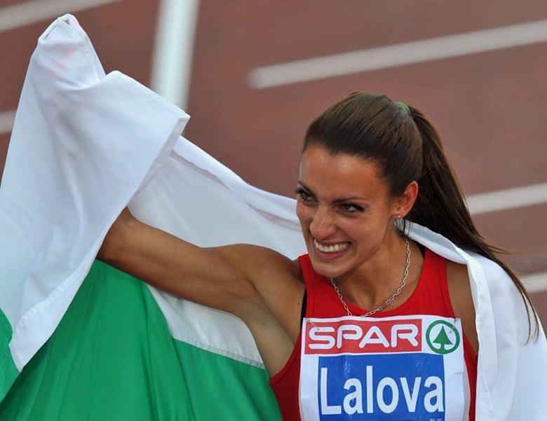 Ivet Lalova Collio lap of honor