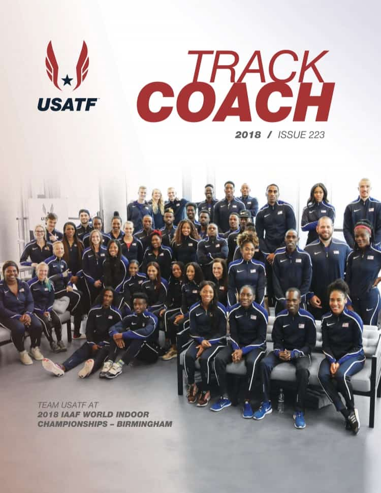 USATF track coach issue 222 cover
