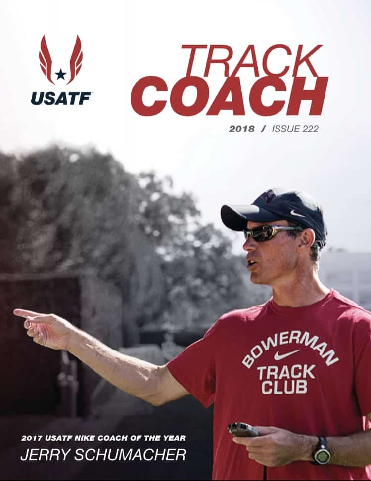 USATF track coach issue 223 cover